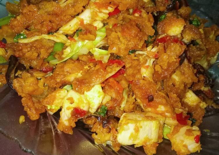 Ayam Orak Arik Crispy
