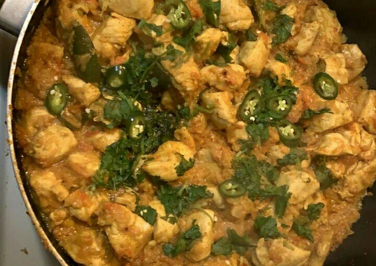 How to Make Homemade Chicken boneless karahi