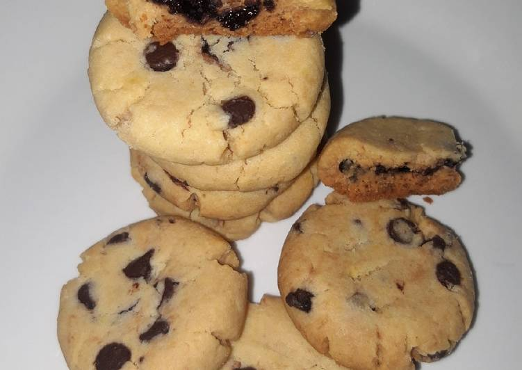 Resep Cookies Chocochips pakai Oven Tangkring, Bisa Manjain Lidah