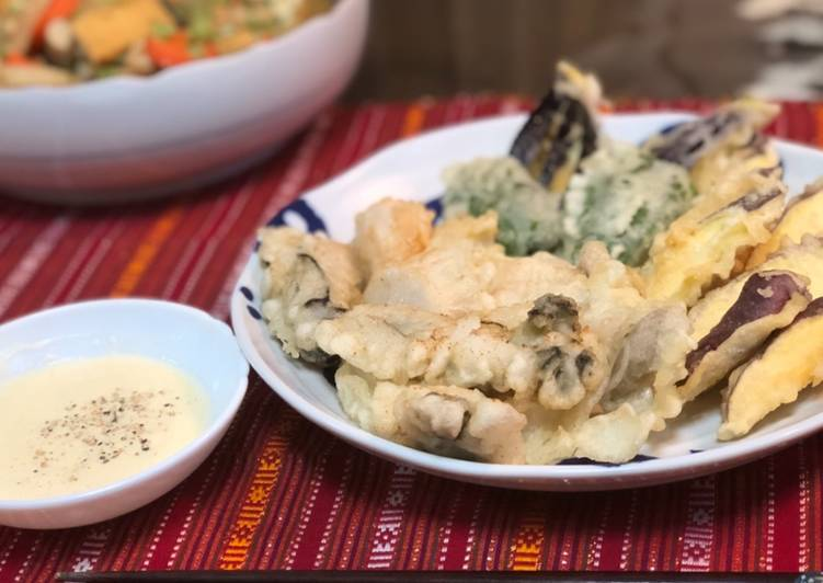 Turn to Food to Boost Your Mood 🇬🇧🇯🇵Tempura with Maureen's Dip