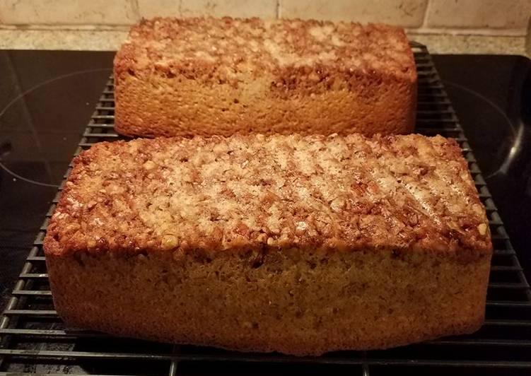 Steps to Prepare Homemade Cake - Pecan Sour Cream
