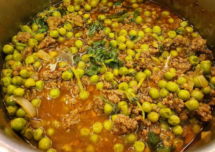 Recipe of Top-Rated Lebanese Pea Stew (Bazella w Riz)