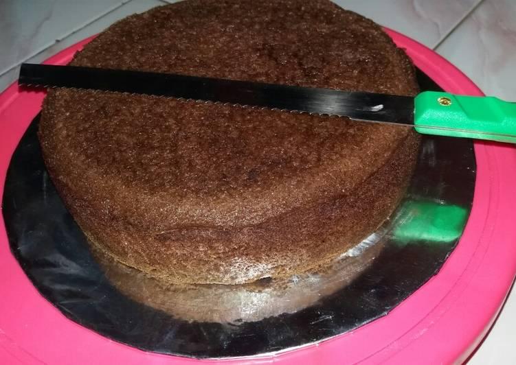 Resep Dasar cake black forest untuk tart Paling Gampang