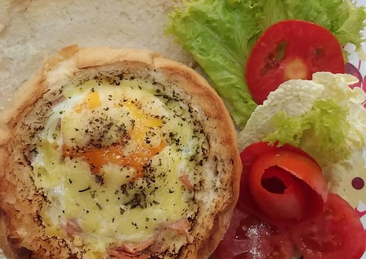 สูตร ขนมปังอบไข่ โดย สุประวีณ์ รัตนะ - Cookpad