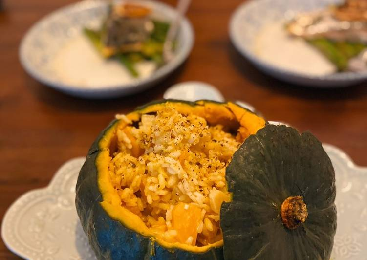 Step-by-Step Guide to Make Homemade Pumpkin risotto 🎃