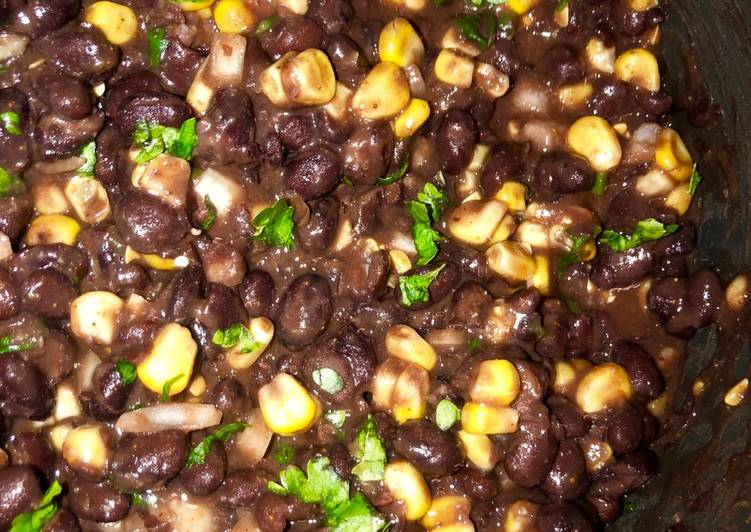 Recipe of Top-Rated Spicy cilantro lime black beans