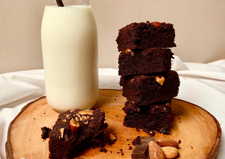 Resep Brownies Panggang Less Sugar Oleh Benika S Delight Cookpad