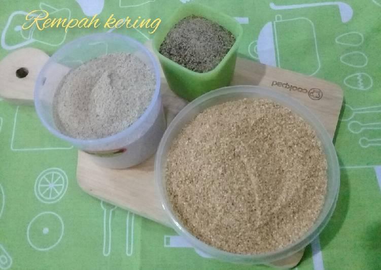 Bumbu dasar rempah kering (merica dan ketumbar)