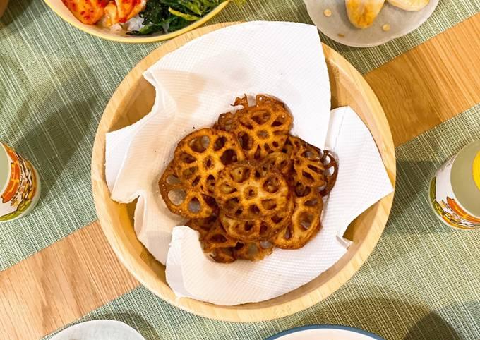 Crispy & healthy snack! Lotus Root Chips