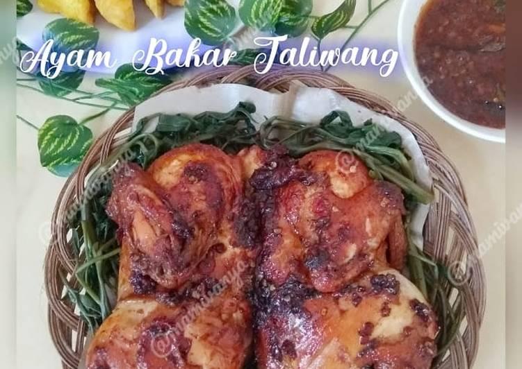 Resep Ayam bakar taliwang yang Enak Banget