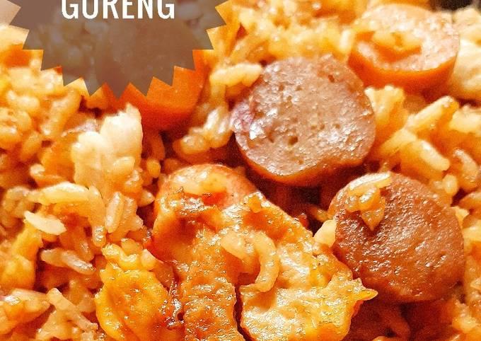 Resep Nasi goreng (dengan ebi tumbuk) Anti Gagal