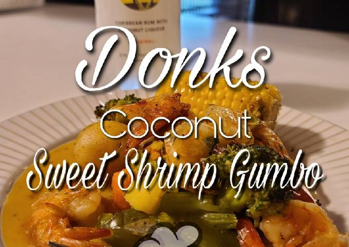 Coconut Grilled Shrimp Gumbo