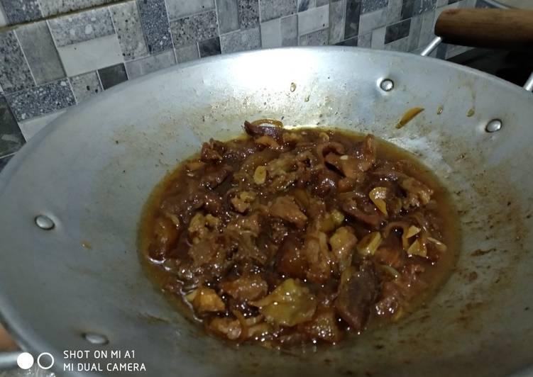 Antara Daging Semur & Beef Teriyaki ala hokben
