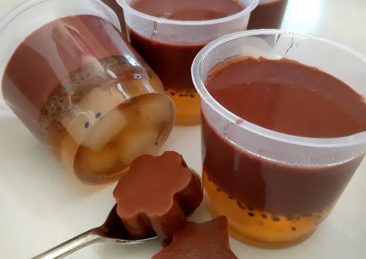 Pudding Coklat Natadecoco Jelly
