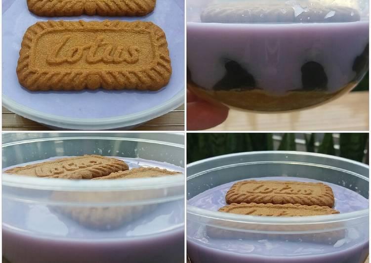 460. Dessert box boba taro