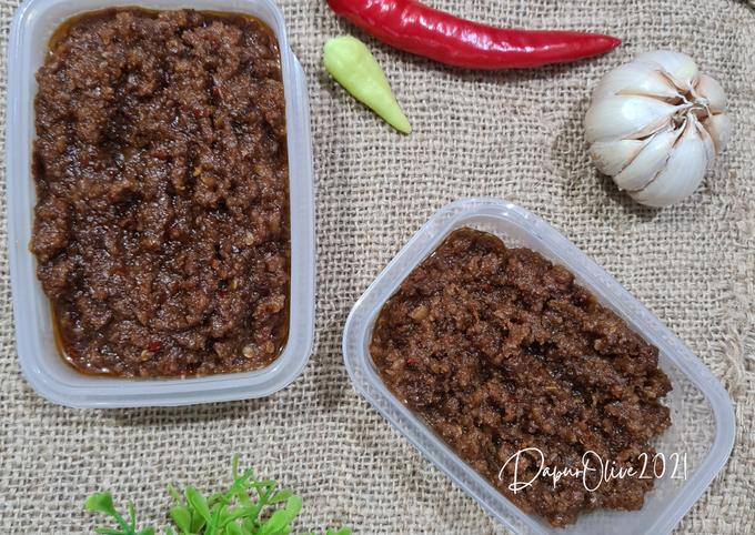 Sambal Kacang untuk Cilok, Batagor, Siomay atau Gorengan