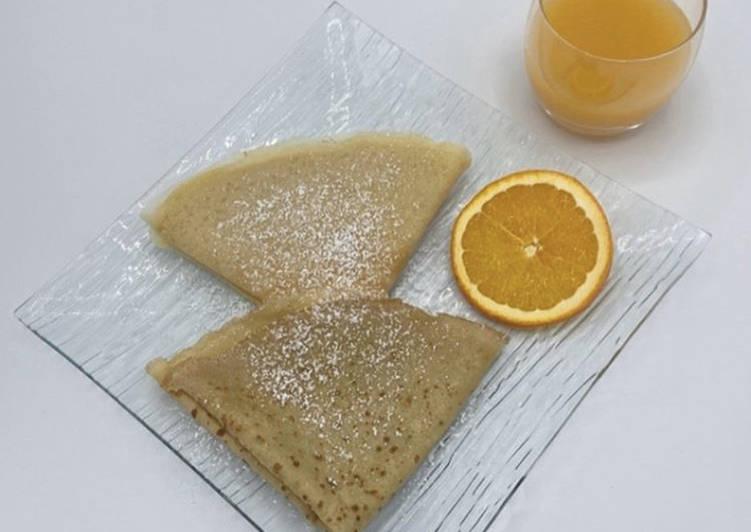 Méthode la plus simple pour Préparer Favoris Crêpes à l'Orange