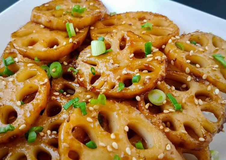 Easiest Way to Cook Delicious Korean BBQ Lotus Root