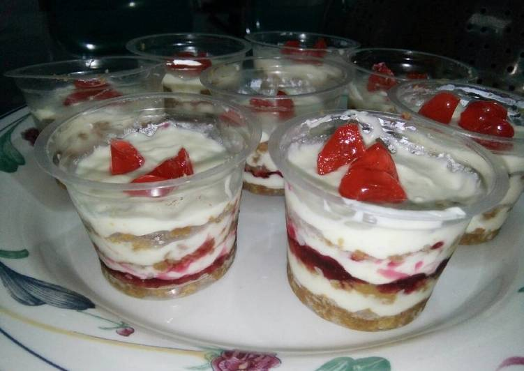 Creamy cheese cake