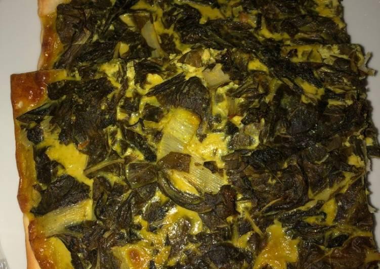 Recipe: Appetizing Tarte aux blettes