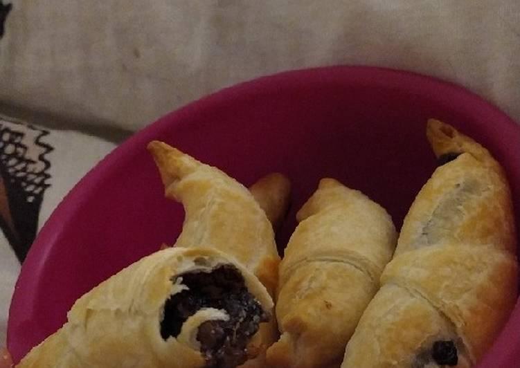 🥐 Croissants aux Nutella 🍫