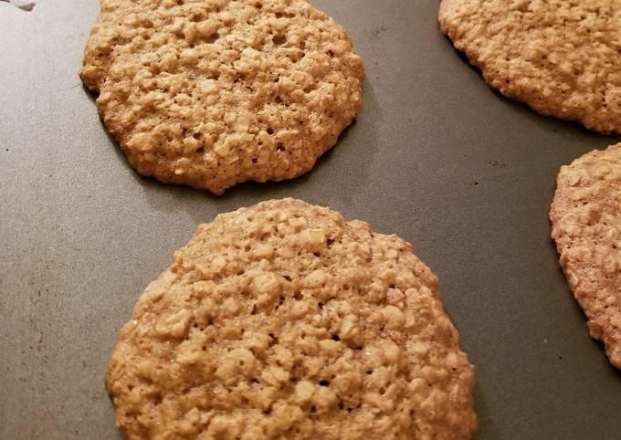 Just Plain Oatmeal Cookies