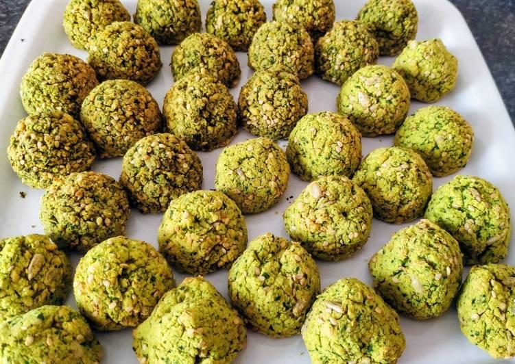 Falafels à la coriandre et au persil (vegan)