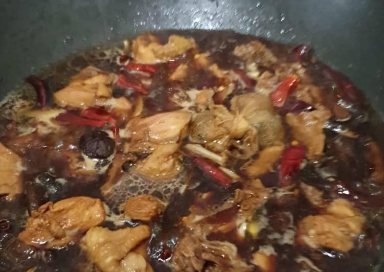 masak ayam kuah hitam dairi dapur resepi ayam masak lada hitam pyles repere Resepi Ayam Paprik Istimewa Enak dan Mudah