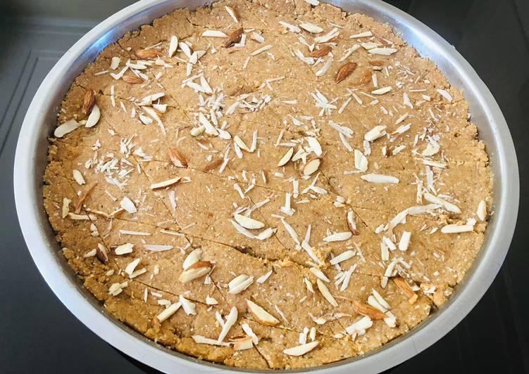 10 Minute How to Prepare Winter Gujarati sweet Golpapdi (sukhdi)
