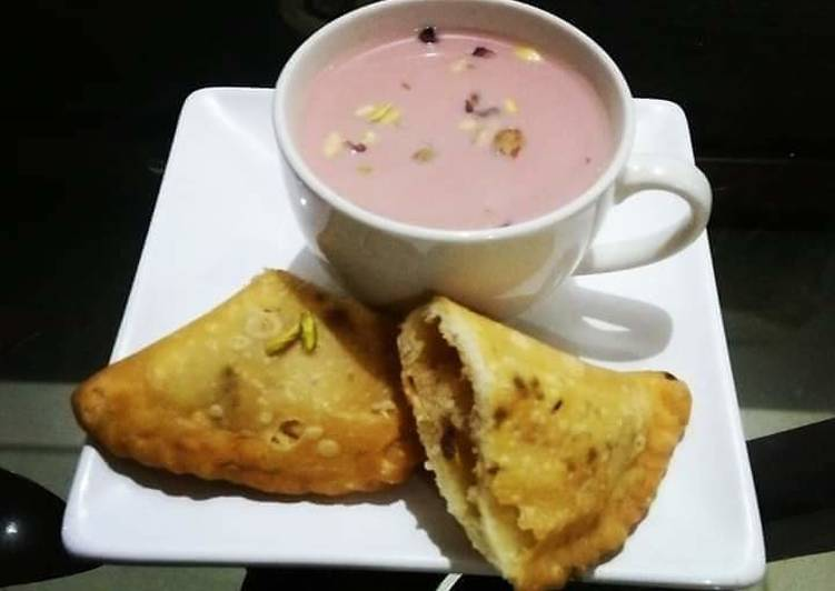 Step-by-Step Guide to Make Perfect Kashmiri Chai(pink tea)😍☕