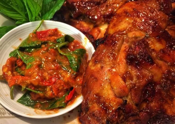 Resep Ayam Bakar Madu Sambal Kemangi Oleh Azizah Kitchen Cookpad