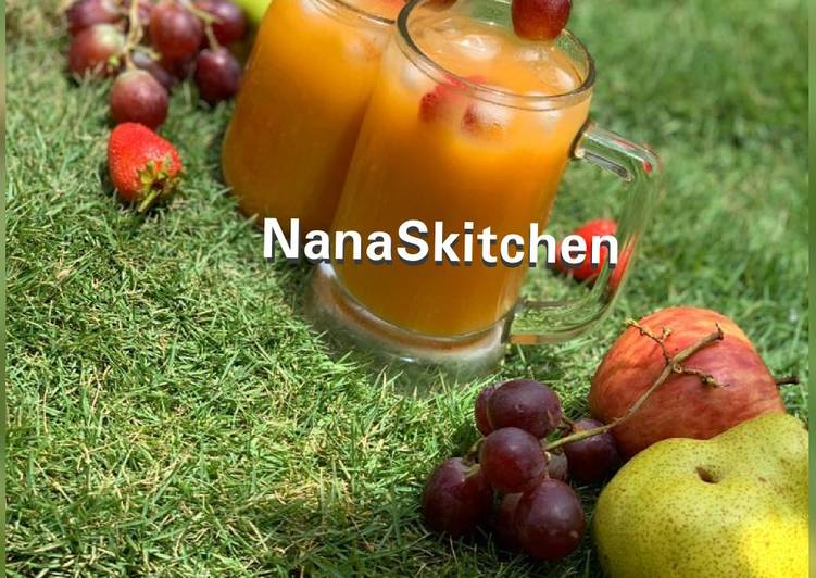 Steps to Make Perfect Multinectar fruit juice