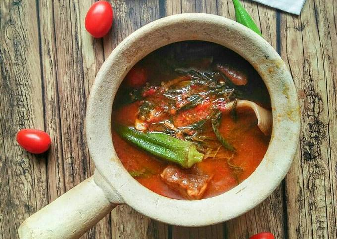 Asam Pedas Simple #phopbylinimohd #cookpadmalaysia #menuberbuka