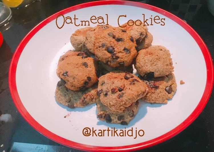 Resep Oatmeal Cookies (Tanpa Oven) oleh Kartika G @dapurmimi_jkt