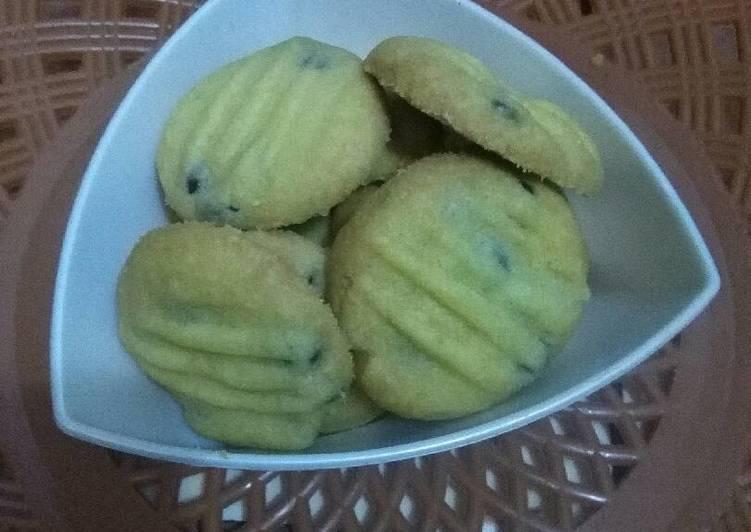 Coklat chips cookie