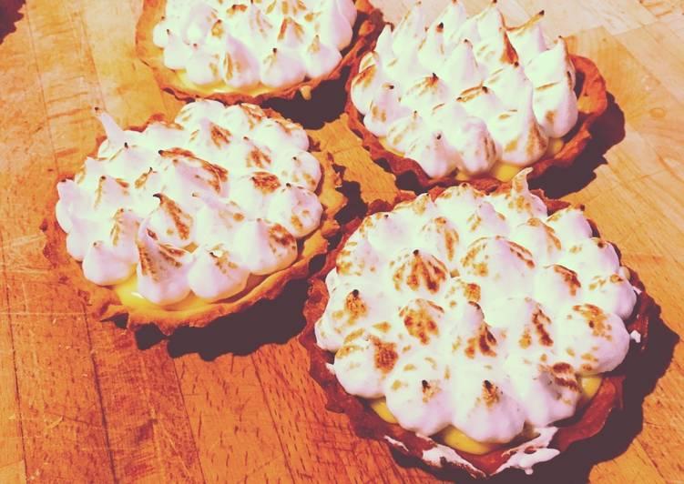 Recette Des Tartelette citron meringuée