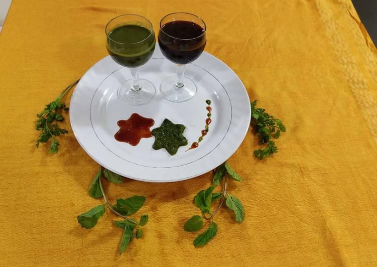 Simple Way to Make Favorite Tikhee Meethi Chutney
