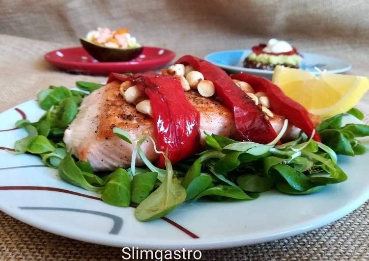 Mandulás lazac - Slimgastro receptje - Cookpad receptek