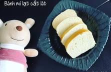 Bánh mì lạt cắt lát