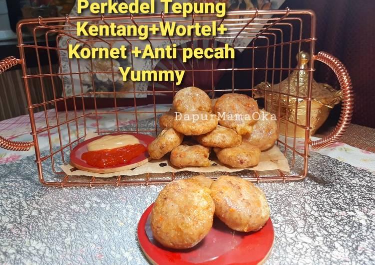 Perkedel Tepung Kentang+Wortel+Kornet Anti Pecah Yummy