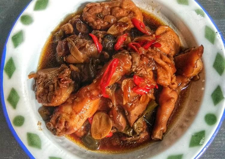 Bagaimana Mengolah Ayam Kecap Sunda Sederhana