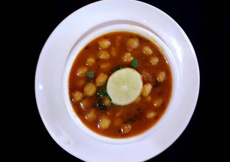 Recipe of Super Quick Homemade Chola curry