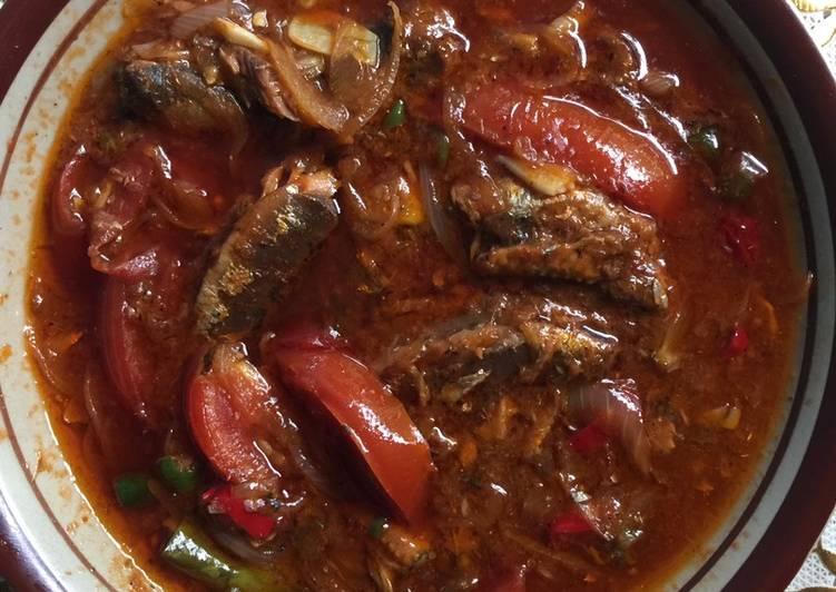 Sarden Kaleng Tomat Pedas