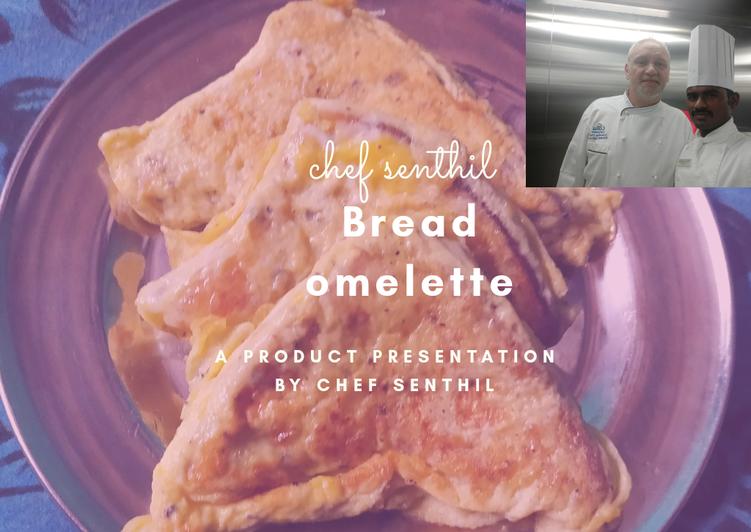 Recipe: Yummy Bread omelette