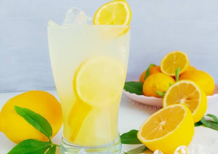 Jus Lemon - resepipouler.com