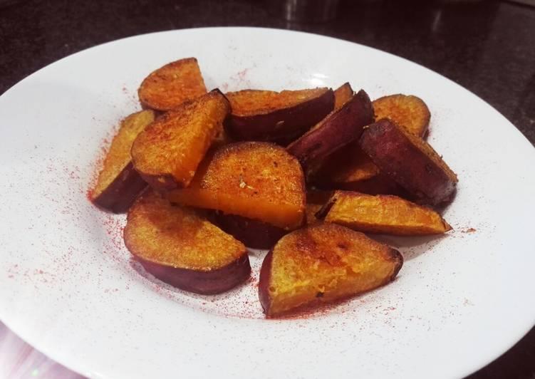 Batatas Crocantes Al Horno Receta De Yohanna P Cookpad