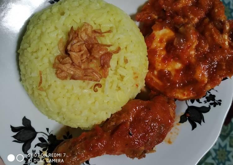 59. Nasi Kuning Banjar - ala Mamah Afa