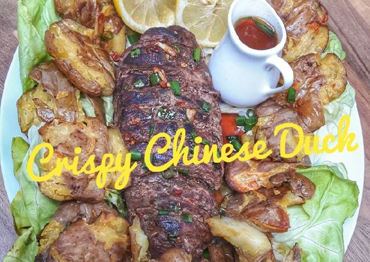 Crispy Chinese Duck