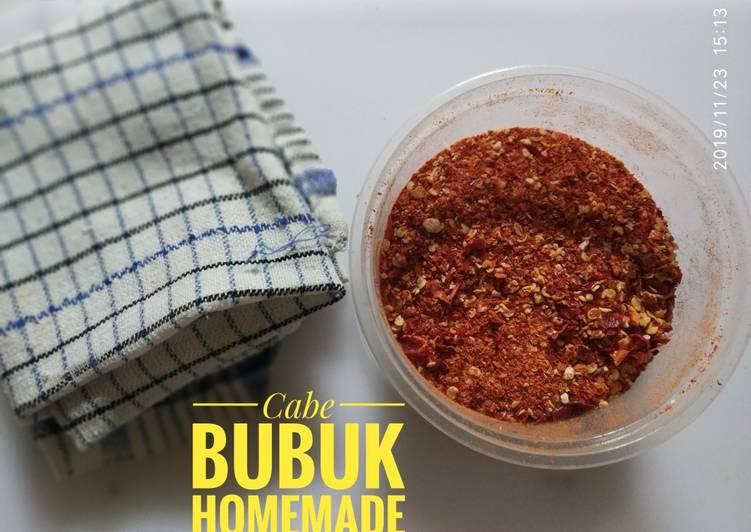 Cabe Bubuk Homemade