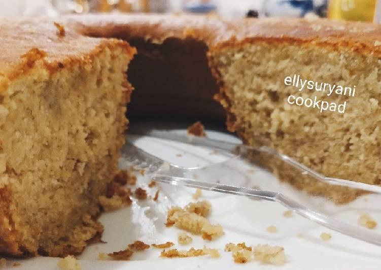 Cake Pisang Resep 2 Telor Super Lembut, Moist dan Yummy - cookandrecipe.com
